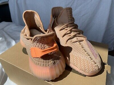 1fc87f908 Adidas Yeezy Boost 350 V2 Clay EG7490 Kanye West 100% Authentic Mens Size 9