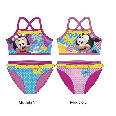 Rougenoir Mouse Enfant Uopzkitx Maillot Minnie Disney Bain De Fille SALq35j4Rc