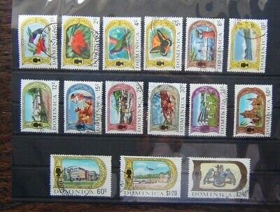 Dominica 1969 - 1972 values to $2.40 Used