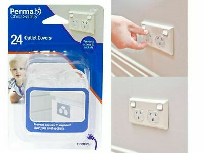 24 Pack Perma Child Safety Outlet Covers 707