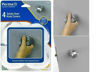 4 Pack Perma Child Safety Door Knob Covers 719