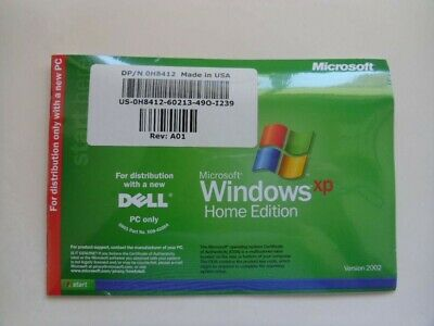 Sealed New MICROSOFT WINDOWS XP HOME EDITION 2004 DELL REINSTALL CD Make Offer!!