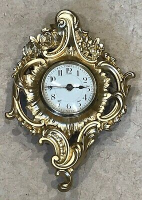 Antique Style French wall Clock Ideal For a Bedroom