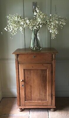 Gustavian Antique Pine and Hall Cupboard Cabinet