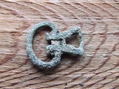 Roman Britain.   An Iron Buckle.    Rare.     A Nice Example..