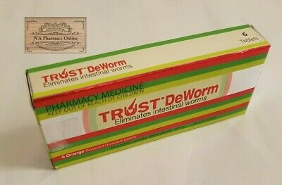 Trust DeWorm Tablets 6 Plus *Free Gift*