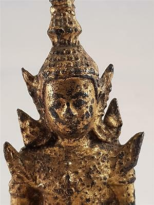 Buddha Thailand Thai Rattanakosin Gilt Bronze Figure  the Buddha ca.18-19th c.