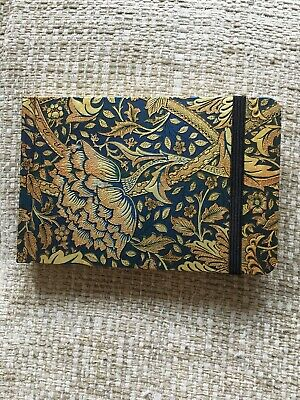 paperblanks William Morris notebook Gold And Blue