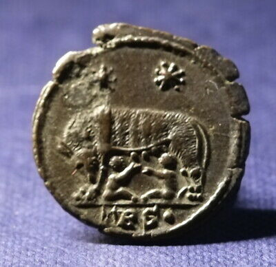 Constantine The Great Follis, Urbs Roma. Nice Condition. See Photos