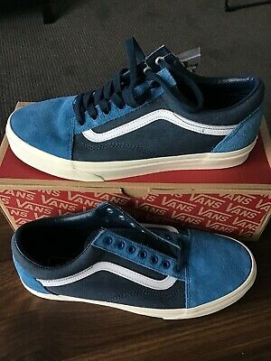 e57f68b16bd9 Vans x J.Crew Old Skool Blue Suede NWT Size US10 Mens  11.5 Womens