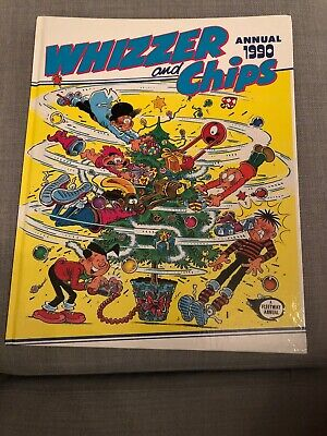 Whizzer and Chips Annuals 1980, 1990, 1991. Good condition