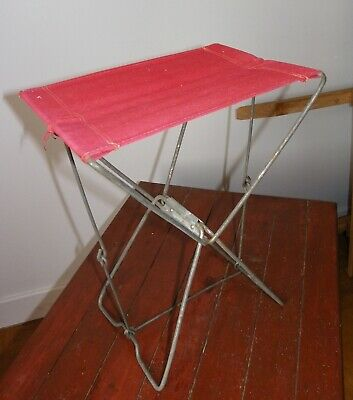 ANCIEN SIEGE DE PECHEUR PLIANT  old folding fisherman's seat