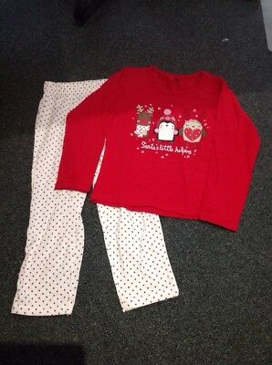 Girls Winter Pyjama Set, Age 3-4 Years, Primark