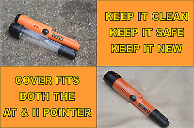 *Cover To Fit Garrett At Pro Pointer  Fits Both At/Ii Models (Black/Clear)