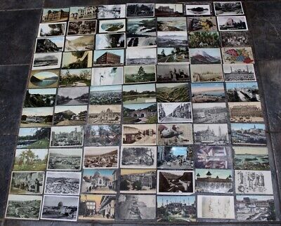 Job Lot x 1000 Foreign Postcards Collection From Private Collection