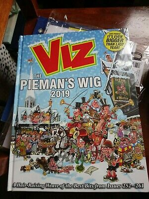 Viz Annual 2019 The Pieman's Wig: Brand NEW