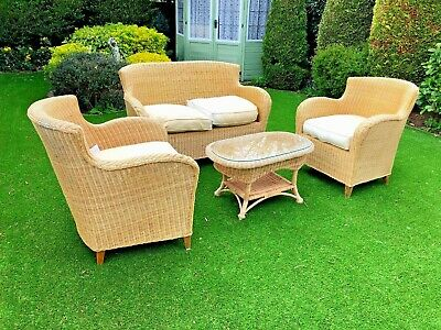 Stunning Cane Rattan Chair Set. Vintage Rare! Worth over £1400, selling for £495