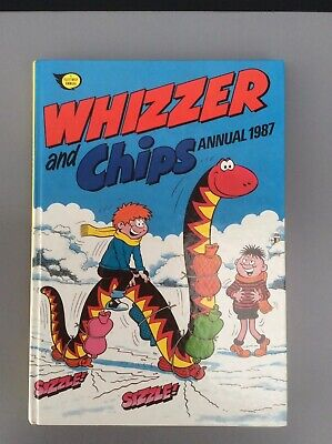 Whizzer And Chips Annual Hardback Book 1987