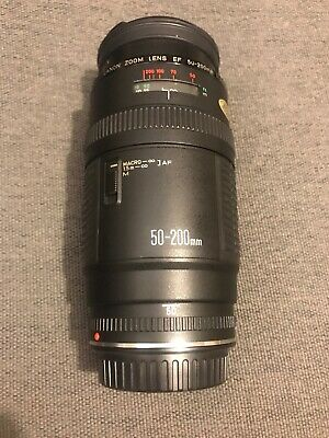 Very Rare Canon EF 50-200mm L F 1: 3.5 -4.5 Lens In IMMACULATE condition