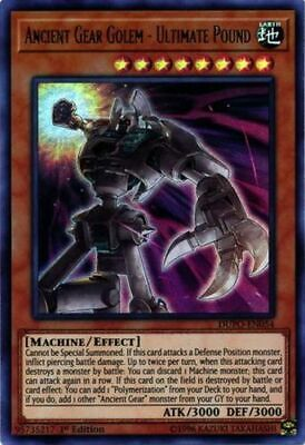 x3 Ancient Gear Golem - Ultimate Pound - DUPO-EN054 - Ultra Rare - 1st Edition N
