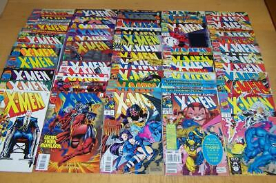Marvel Comics X-Men   1-70 Unbroken Run Onslaught 1991-1997