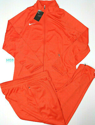 ec065f75cc47 Nike Team Player Staff Warm Up Suit Basketball Orange 2 Piece Set  818035-810 NWT