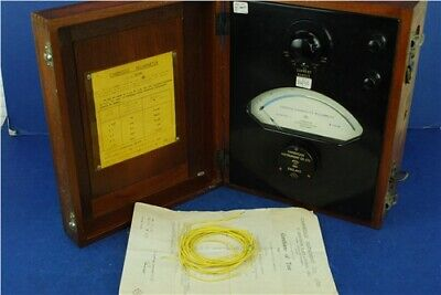Cambridge Instrument Co.Ltd Electrdoynamic Milliammeter No L321691 Collectable
