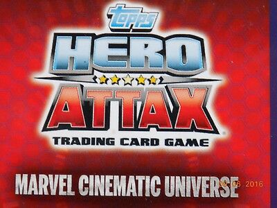 Topps Hero Attax Marvel Cinematic Universe - 10 x shiny cards - see list