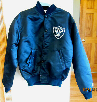 ee16b4a457b VINTAGE 90 S OAKLAND Raiders Full-Zip Starter Jacket Size Medium ...