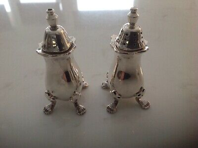 Strachan Vintage Silver Salt and Pepper set
