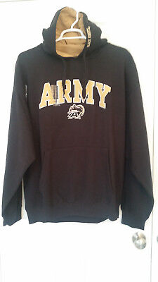 0099d17d9bc1 NIKE MENS BLACK Army Black Knights Classic Cotton Blend Pullover ...