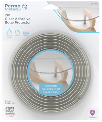 Perma Child Safety 2m Clear Adhesive Edge Protector 1772