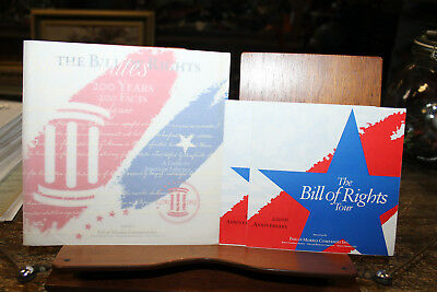 Bill of Rights Booklets Philip Morris 200th Anniversary Tour 200 Years Facts