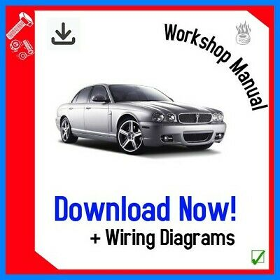 Jaguar Xj Xj6 Xj8 X350 Workshop Service Manual 2003 - 2010 !Download!