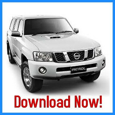 Nissan Patrol Y61 Series Workshop Service Repair Manual 1998 - 2009 Download