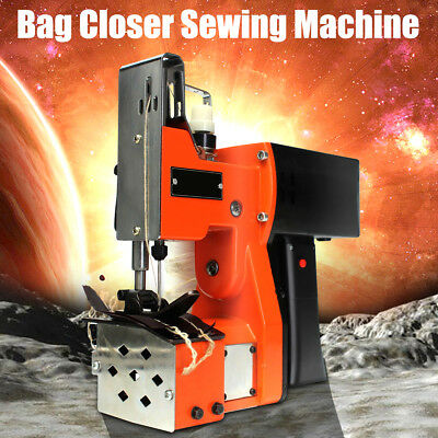 220V Industrial Portable Bag Closer Stitching Sewing Machine Electric Sealing