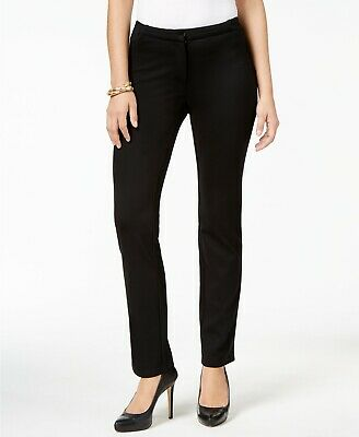 JM Collection Mid-Rise Straight-Leg Pants MSRP $49.50 Size M # 9A 467 NEW