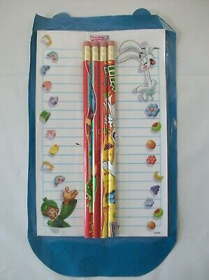 General Mills Cereal Trix Lucky Charms Pencils Pad Box Tops for Education Premiu
