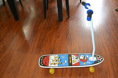 Vintage Snoopy and the Scooters Nash Peanuts Joe Cool Classic Skateboard