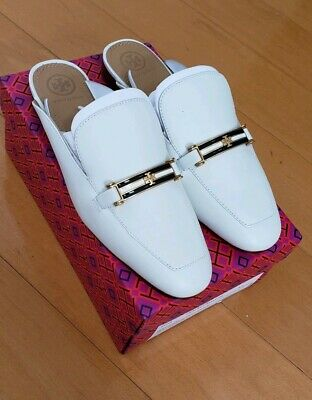 6d9042a95ae TORY BURCH WOMEN S Amelia Backless Loafer Perfect Ivory 52125 Sz 7 ...