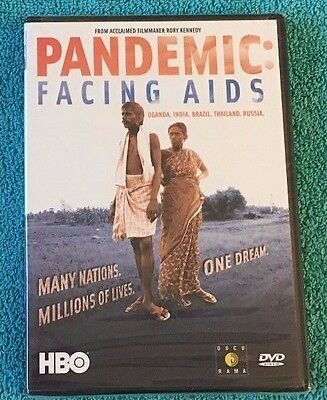 Pandemic: Facing AIDS (DVD, 2003) Brand New Sealed, Region 1, HBO