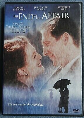 The End of the Affair (DVD, 2000, Full Screen and Anamorphic Widescreen)