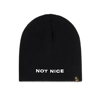 OCTOBER'S VERY OWN OVO X Canada Goose Boreal Beanie Black