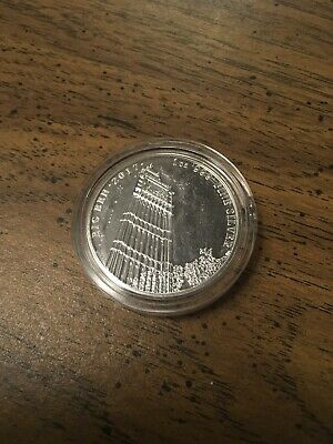 2017 Landmarks of Britain - BIG BEN SILVER 1 troy oz. BU Coin 1st in Series UK