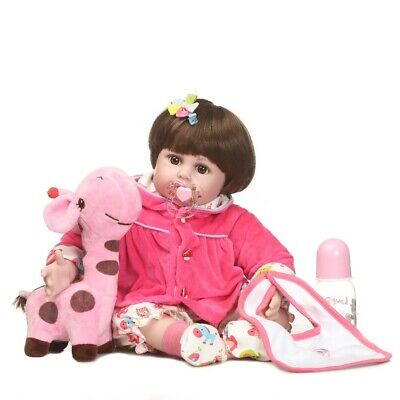 Cheap 20''50cm Reborn Baby Toddler Doll Realistic Looking bebe Lifelike Doll Toy