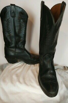 13ceeb30ae4 MENS JUSTIN STAMPEDE cowboy Western boots size 9 EE extra wide brown ...