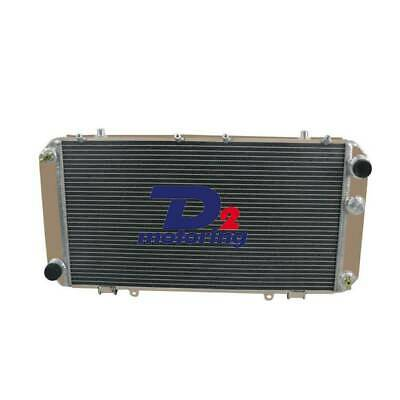 2ROW Aluminum Radiator FOR 84-89 88 TOYOTA MR2 AW11 1.6L 4CYL MT 36MM D2M D2M