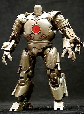 "Marvel Legends ""IRON MONGER"" Iron Man Series 1 Red Core Arc Reactor"