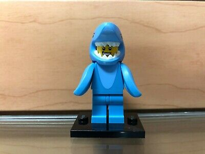 """Ships in a box LEGO Minifigure Series 15 /""""Shark Suit Guy/"""" 71011 Boy in Costume"""