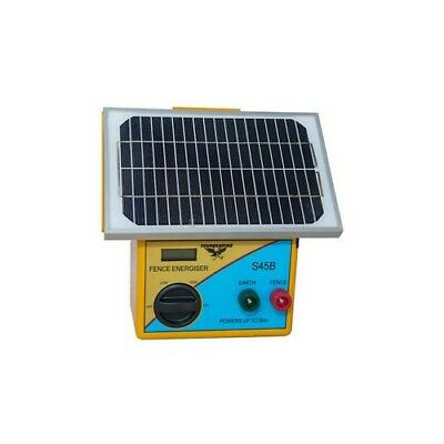 Thunderbird Solar Electric Fence Energiser S45B - 5km portable farm fence unit